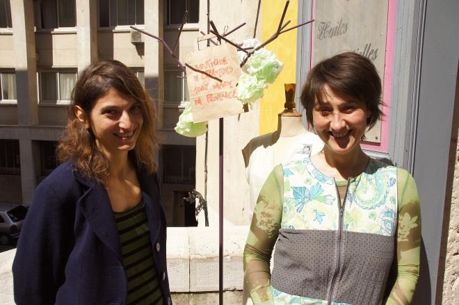 Stéphanie Loggia (Quiètu) et Delphine Brousse (Yvonne et Germaine)